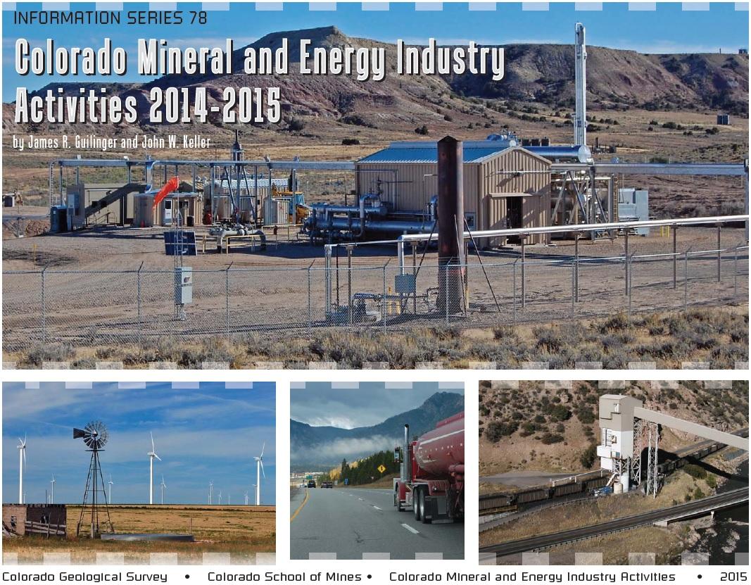 Colorado Geological Survey resumes publication of Colorado Mineral ...